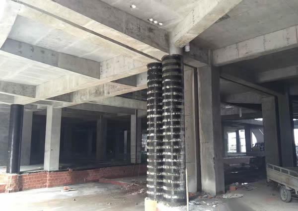 柱子碳纤维加固