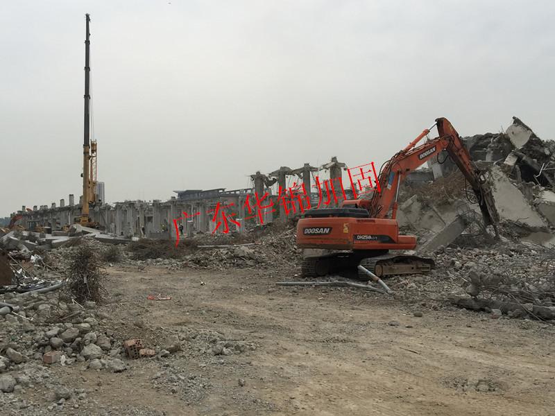 校园广场拆除工程